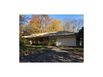 Geauga County Single Family Home For Sale: 13367 Cedar Acres Dr