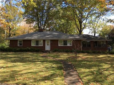 Wadsworth Single Family Home For Sale: 609 Crestwood Ave