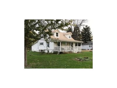 Muskingum County, Morgan County, Perry County, Guernsey County Single Family Home For Sale: 3645 Main