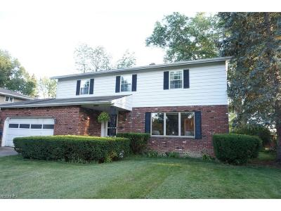 North Olmsted Single Family Home For Sale: 29651 Westminster Dr