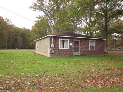 Single Family Home For Sale: 6690 State Route 225