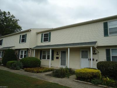 Mentor Condo/Townhouse For Sale: 7391 Abby Ct