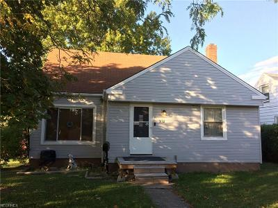 Cleveland Single Family Home For Sale: 3132 Walbrook Ave