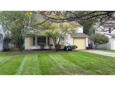 Cleveland Single Family Home For Sale: 3702 Fenley Rd