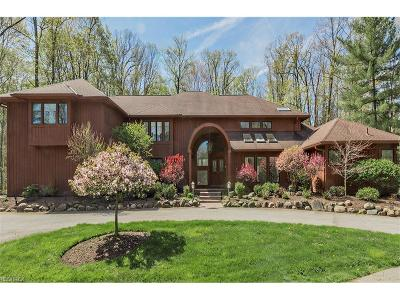 Cuyahoga County Single Family Home For Sale: 30 Pebblebrook Ln