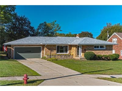 Wickliffe Single Family Home For Sale: 1942 Rush Rd