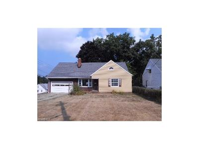 Wickliffe Single Family Home For Sale: 29005 Ridge Rd