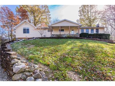 Single Family Home For Sale: 9836 Hoose Rd