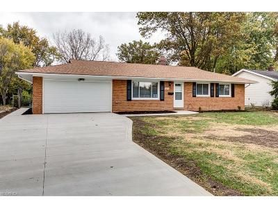 Single Family Home Sold: 8277 Donald Dr