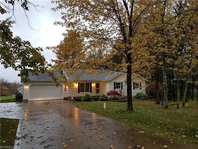 Leroy Single Family Home For Sale: 7848 Proctor Rd