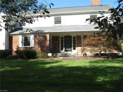 Shaker Heights Single Family Home For Sale: 20525 Byron Rd