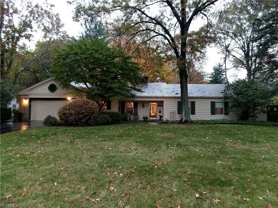 Youngstown Single Family Home For Sale: 4055 Stratford Rd