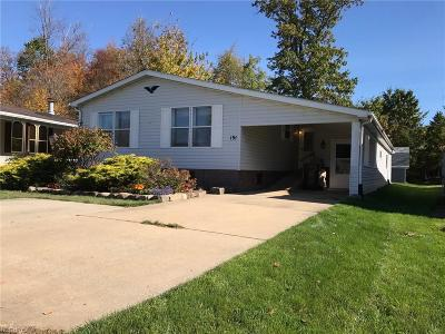 Geauga County Single Family Home For Sale: 191 Sunrise Ln