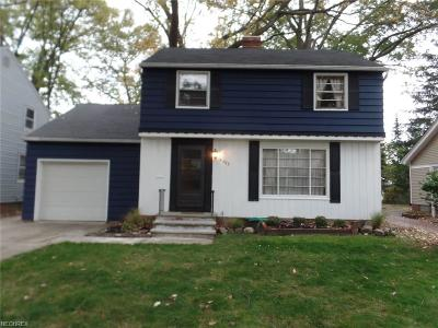 South Euclid Single Family Home For Sale: 4303 Elmwood Rd