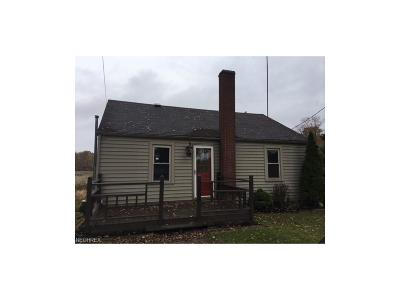 Beloit OH Single Family Home Sold: $14,500