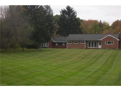 Willoughby Hills Single Family Home For Sale: 2648 Som Center Rd