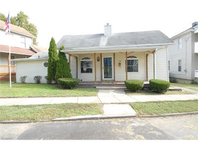 Zanesville Single Family Home For Sale: 258 Corwin Ave