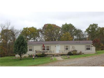 Guernsey County Single Family Home For Sale: 62655 Frankfort Rd