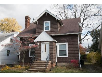 South Euclid Single Family Home For Sale: 1215 Argonne Rd