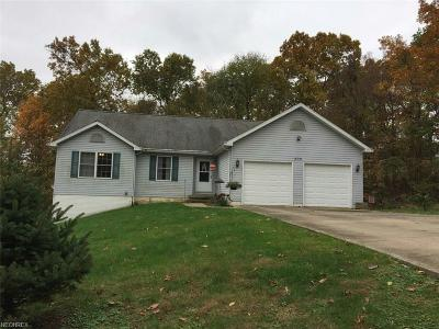 Muskingum County Single Family Home For Sale: 300 Trappers Hollow Rd