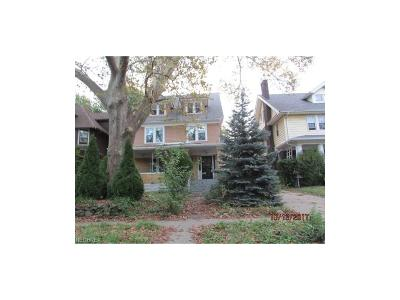 Cleveland Single Family Home For Sale: 1091 East 98th St