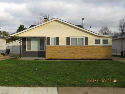 Cleveland Single Family Home For Sale: 4337 Valleyside Rd