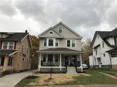 Cuyahoga County Single Family Home For Sale: 1481 Alameda Ave