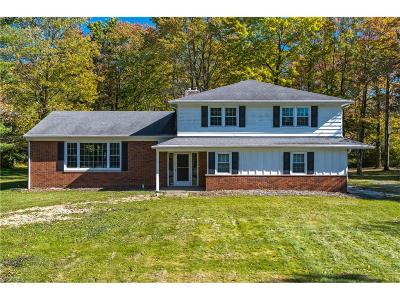 Geauga County Single Family Home For Sale: 11303 County Line Rd