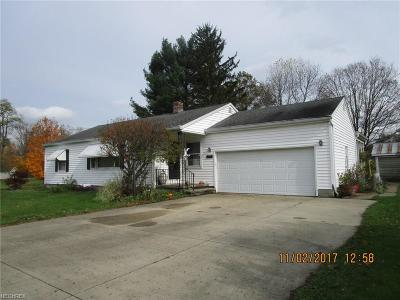 Ashtabula County Single Family Home For Sale: 1220 Water St