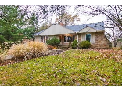 Brecksville Single Family Home For Sale: 6923 Wallings Rd