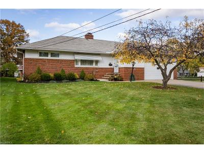 Wickliffe Single Family Home For Sale: 30405 Ridge Rd