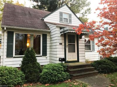 Parma Single Family Home For Sale: 1603 Marietta Ave