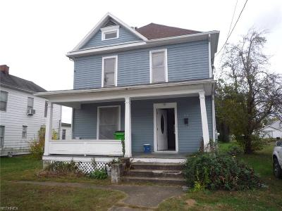 Belpre Single Family Home For Sale: 709 Clement Ave
