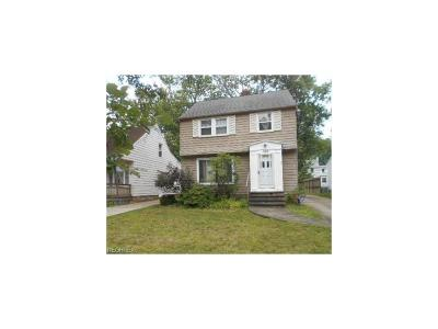 South Euclid Single Family Home For Sale: 1129 Argonne Rd