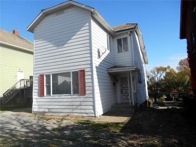 Zanesville Single Family Home For Sale: 1628 Maple Ave