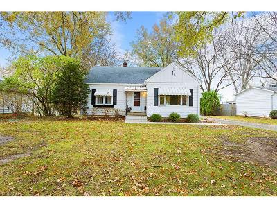 Medina County Single Family Home For Sale: 225 West Park Blvd