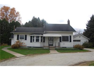 Copley Single Family Home For Sale: 3540 Minor Rd