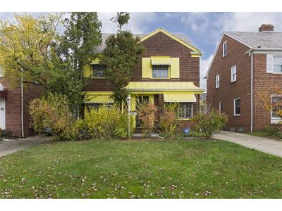 Shaker Heights Single Family Home For Sale: 3687 Rolliston Rd