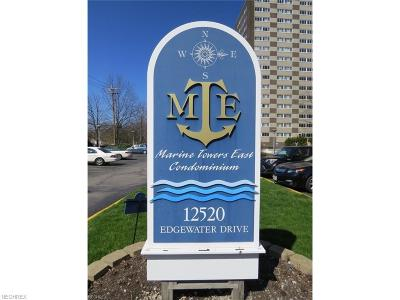Bay Village, Cleveland, Lakewood, Rocky River, Avon Lake Condo/Townhouse For Sale: 12520 Edgewater Dr #405
