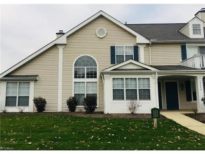 Olmsted Falls Condo/Townhouse For Sale: 23275 Grist Mill Ct #2