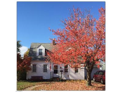 Wadsworth Single Family Home For Sale: 326 Highland Ave
