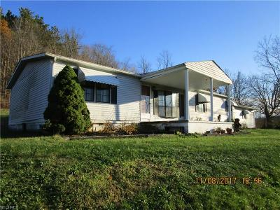 Guernsey County Single Family Home For Sale: 62628 Leatherwood Rd
