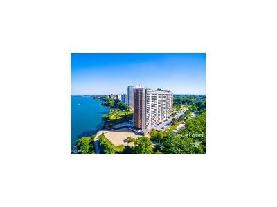 Bay Village, Cleveland, Lakewood, Rocky River, Avon Lake Condo/Townhouse For Sale: 12900 Lake Ave #502