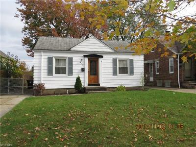 Cleveland Single Family Home For Sale: 4553 West 146th St