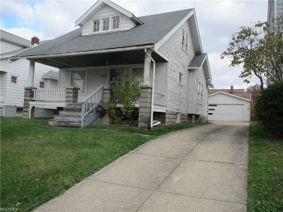 Maple Heights Single Family Home For Sale: 5171 Arch St