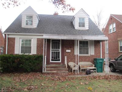 Maple Heights Single Family Home For Sale: 21307 Hillgrove Ave