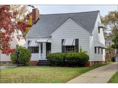 Shaker Heights Single Family Home For Sale: 3717 Pennington Rd