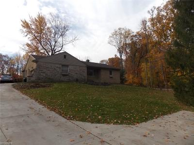 Brecksville Single Family Home For Sale: 6616 Wallings Rd
