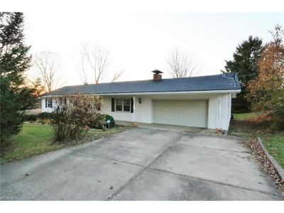 Zanesville Single Family Home For Sale: 1565 Meadow Farm Church Rd