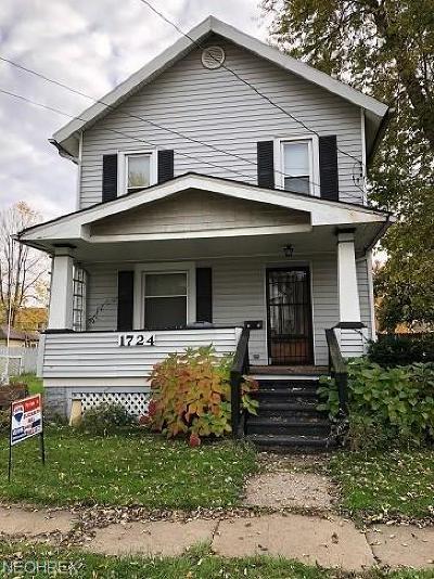 Ashtabula Single Family Home For Sale: 1724 West 7th St